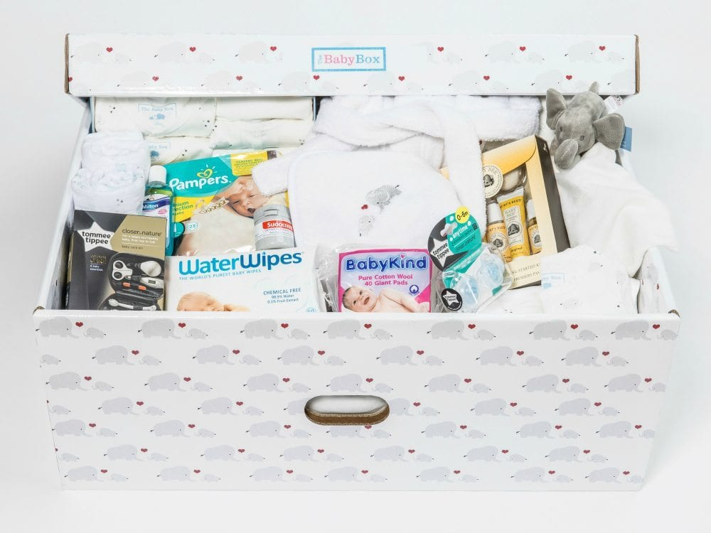 Baby Shower Decorations Dublin ~ Baby box the perfect shower gift