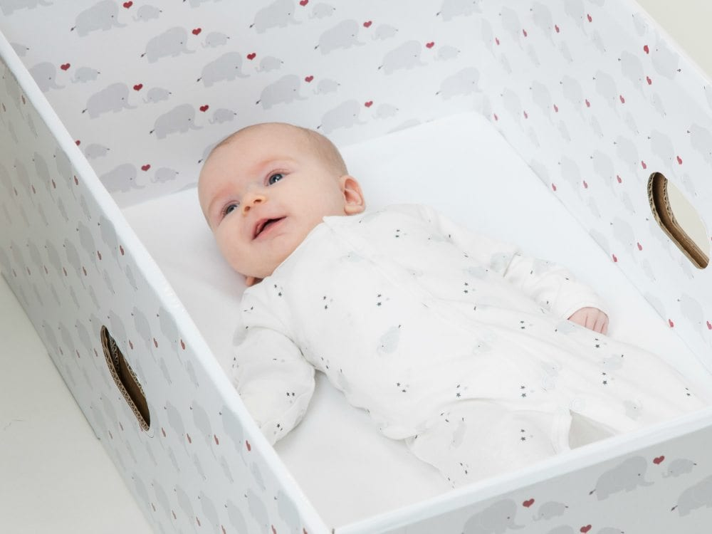 Baby Box The Bed Box By The Baby Box Safe Sleep For